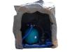 GFKWasserfall // Farbe: Granitgrau // Artikelnummer: W700 // Ansicht: Hinten